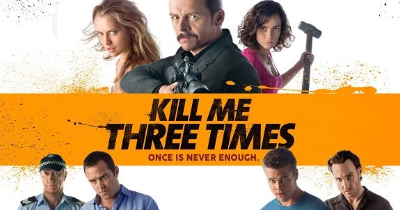 Comedy, Suspence, Movie Review, Kill Me Three Times, Movies