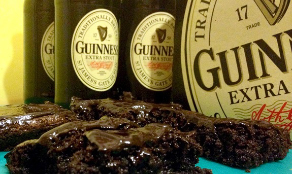 Guinness, brownies, food, foodie, beer, recipes, dessert, Guinness Extra Stout