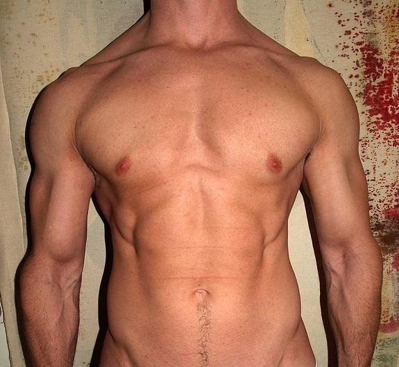 Naked male polynesians