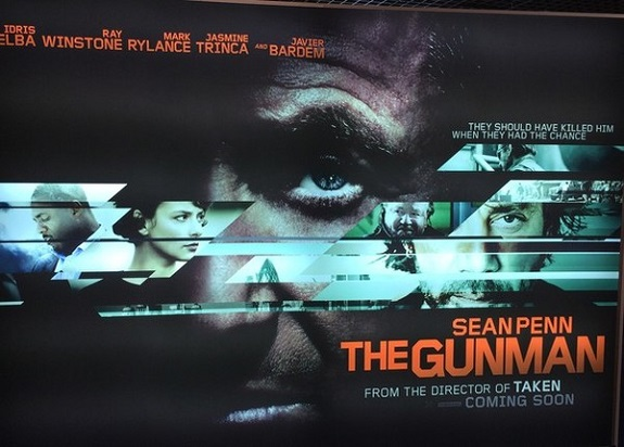 The Gunman, movies, Movie Review, Sean Penn, Action, Thriller