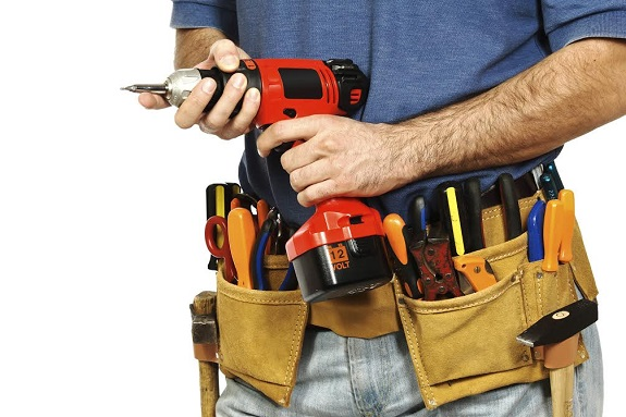 manual worker, toolbelt, handyman, drill, tools, workshops,