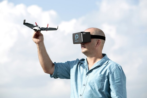 airplane, drone, Kickstarter, paper airplane, Parrot, PowerUp Toys, Wi-Fi