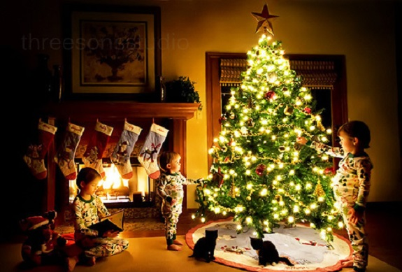 child proof, Christmas, Christmas lights, Christmas Tree, Holiday, lead poisoning, kids, ornaments, Pine, Playpen, Tree