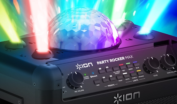 ION, Party Rocker Max, Party Rocker, speaker, bluetooth, party