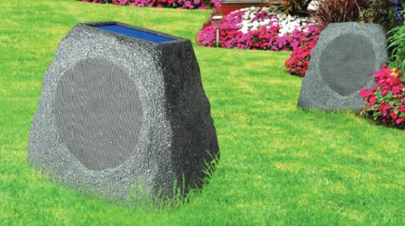 Solar Stone, ION, speaker, bluetooth, outdoor