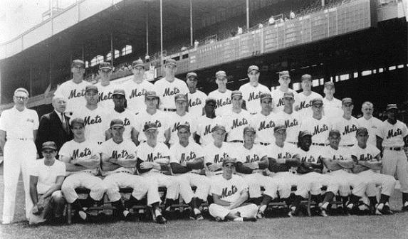 1962, Casey Stengel, Charlie Neal, Don Zimmer, Felix Mantilla, Frank Thomas, Gil Hodges, Gus Bell, Hobie Landrith, Richie Ashburn, Roger Craig, NY Mets, MLB, Expansion Draft