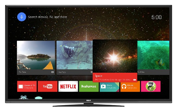 RCA, Android, TV, tech, Pepcom DigitalFocus, 4k, Android TV