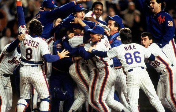NY Mets, 1986 World Champions, Shea Stadium, celebration, Davey Johnson, Free Shirt Friday, giveaway, Pregame On Field Ceremony, Championship Replica Ring