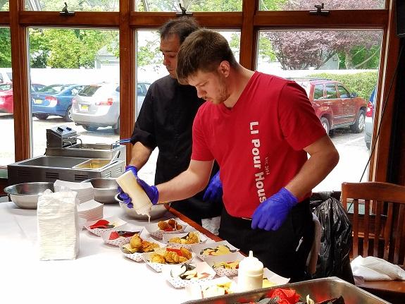 Best Wings LI, Chef Joe Festinger, Great South Bay, LI Pour House, Nacho Fest, nachos