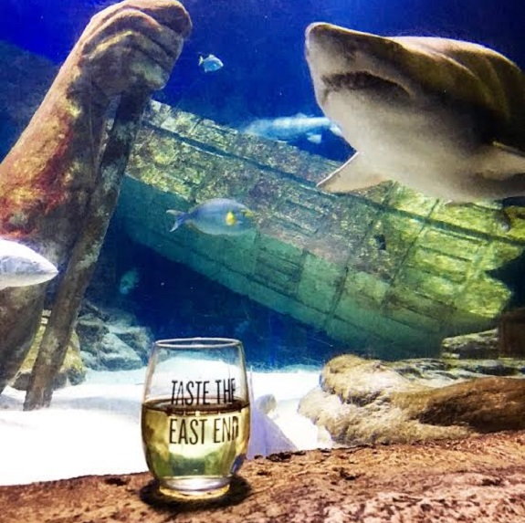 Taste the East End, wine, beer, food, event, aquarium, Atlantis LI Aquarium