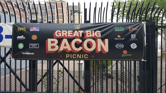 Great Big Bacon Picnic, bacon, event, Brooklyn, Williamsburg, The Old Pfizer Factory in Williamsburg, The Old Pfizer Factory, High & Mighty Brass Band, restaurants, chefs, food trucks, brew masters, distillers and mixologist,