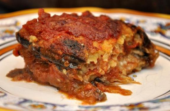 eggplant lasagna, Italian, recipe,