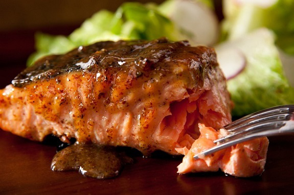 Maple-Mustard Grilled Salmon, Barbecue Recipes, dinner, Entrees, Grilling Food, Recipes, salmon