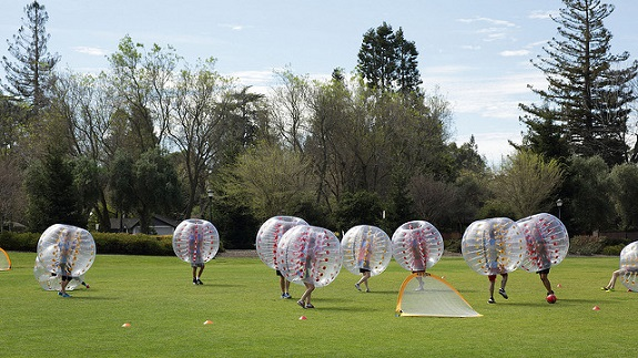 sports, fun zorbing, Bubble Soccer, Archery,