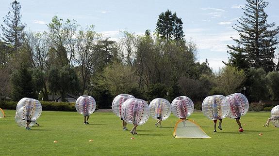 sports, fun zorbing, Bubble Soccer, Archery,