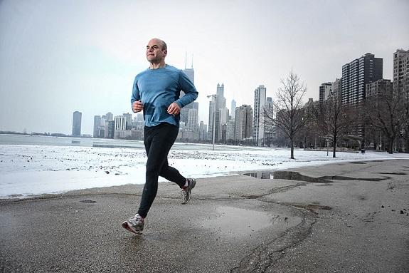 running, health, fitness, winter, guys