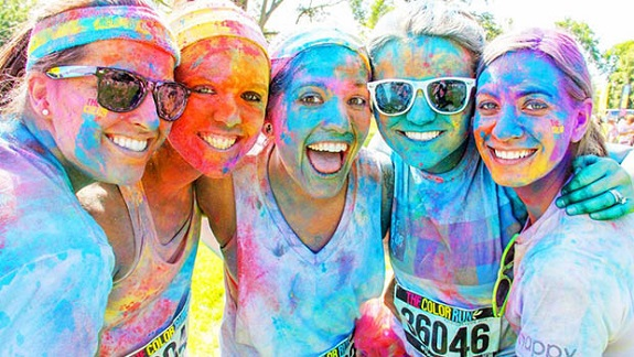 The Color Run, 5K, CitiField, Lay's