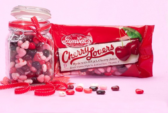 Gimbal's, Cherry Lovers, candies, Valentin'e Day, sweetheart