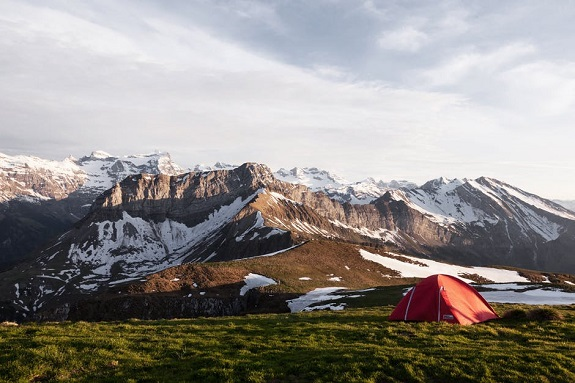 Wild Camping, boots, kitchen, tent, food