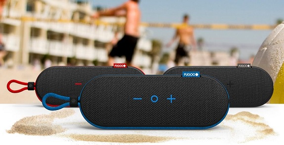 Fugoo, speaker, bluetooth, on the go, music, tech