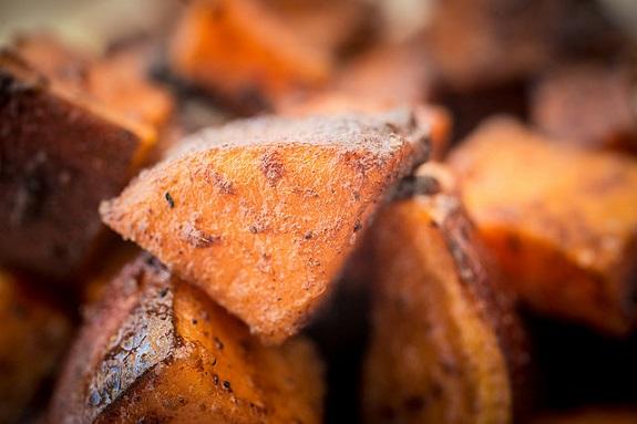 BBQ, food, foodie, sweet potatoes, salmon, smoker, grilling, summer
