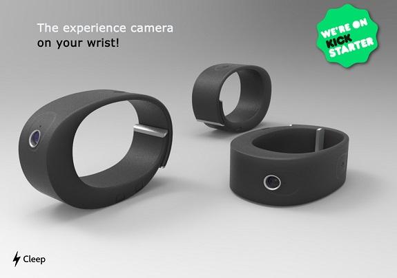 Cleep, video, photos, tech, camera, wrist camera