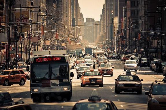 NYC, city, transportation, bus, bike, train, car, Uber, subway, walk, run, taxi