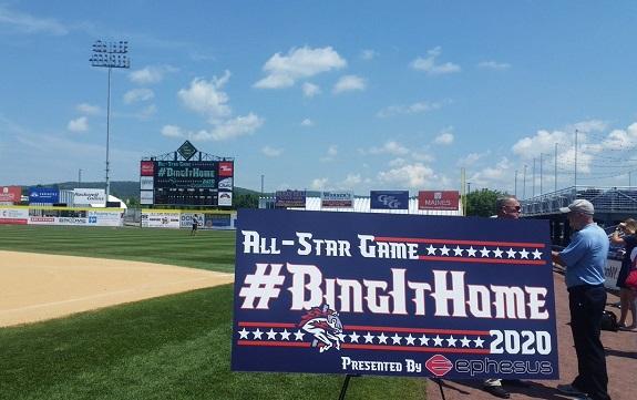 Rumble Ponies, Binghamton, Eastern League All-Star Game, New York Mets, Eaton's Ephesus Lighting