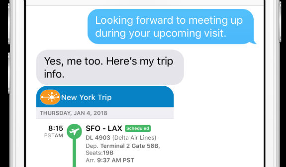 TripIt, iPhone, iMessage, tech, travel, travel blogger, vacation