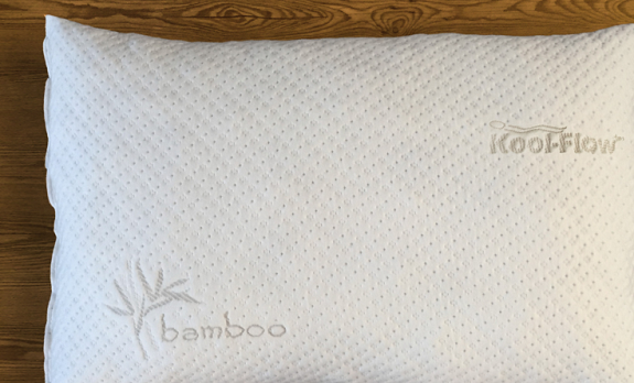 pillow, review, Snuggle-Pedic, memory foam, Kool-Flow, bamboo