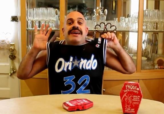 Paqui, Carolina Reaper, Scoville scale, hot peppers, hot, heat, One Chip Challenge, Shaq, NBA, Inside The NBA