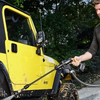 New Worx Hydroshot Portable Power Cleaner Increases Run Time, PSI Rating With 40 Volt Max Battery