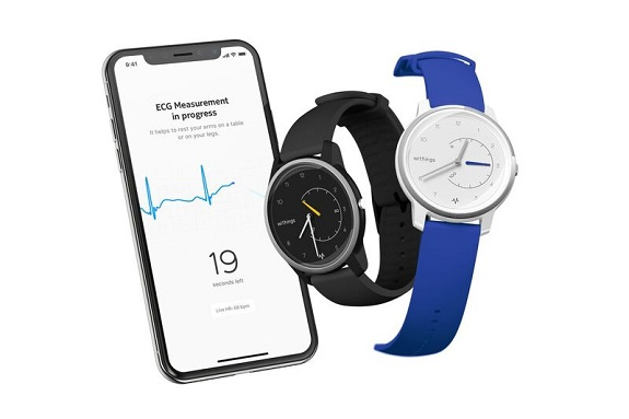 smartwatch, Withings, health, fitness, ECG, AFib, Move ECG, watch, analog watch