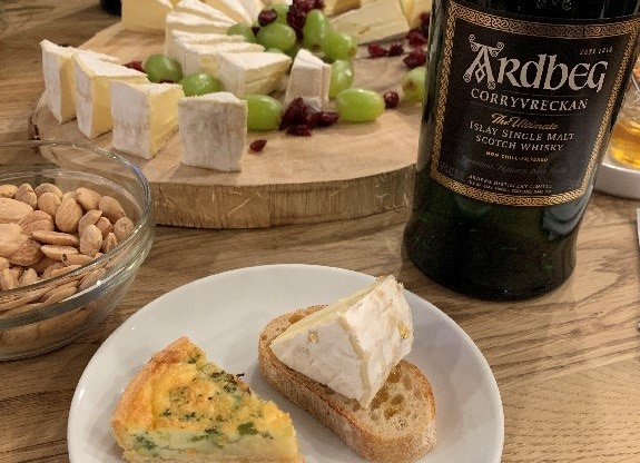 whisky, cheese, The French Cheese Board, Ardbeg, Single Malt