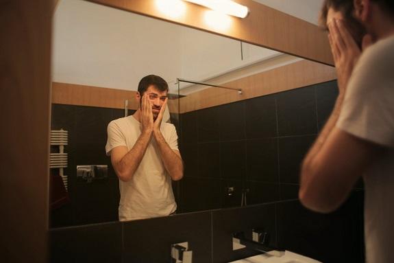 moisturize, men, young, sunscreen, SPF, Retinol,
