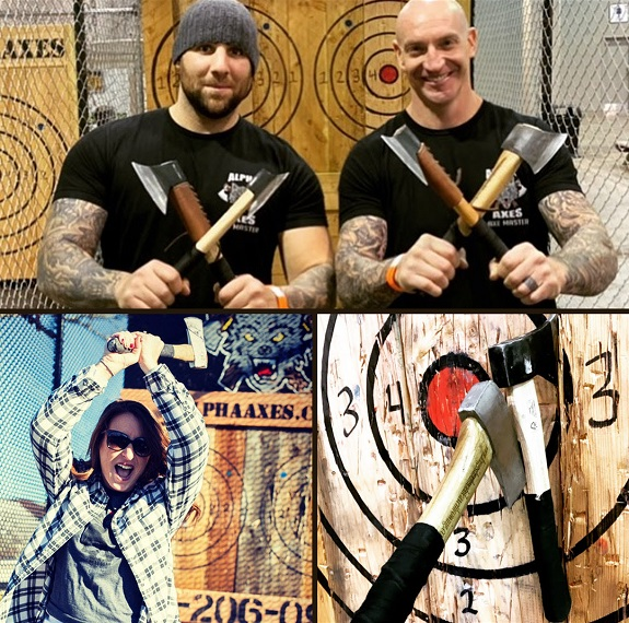 This spring, in the Long Island BATTLE OF THE BULLSEYE, teams of two will compete in the ultimate axe throwing tournament. The winning team, the grand champions, will walk away with not just bragging rights, but a championship belt and a cash prize—second and third place teams will also win cash prizes.