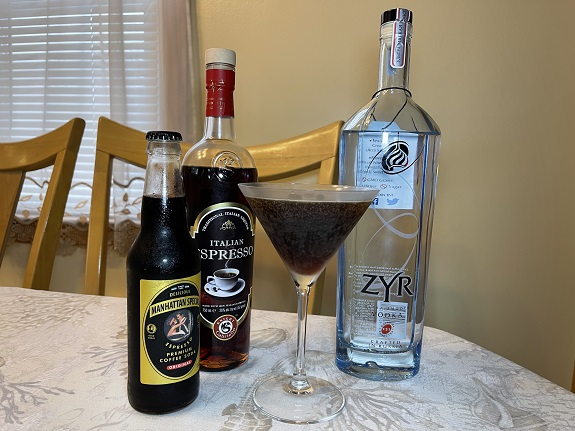 Featured on cocktail lists all over the world, the Espresso Martini is a modern classic cocktail, so the history is not as long and complicated as some of the other classics. The original drink along with vodka and espresso, had Kahlua, Tia Maria and sugar syrup, making for an incredibly rich, overpowering coffee drink. I am not sure how many of you have heard of Manhattan Special. It is a cold espresso drink I have enjoyed for over 30 years and has been around since 1895.